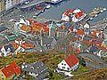 Bergen - Korskirken og Vågsbunnen fra Fløyen.jpg