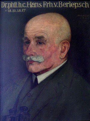 Hans von Berlepsch - Hans von Berlepsch