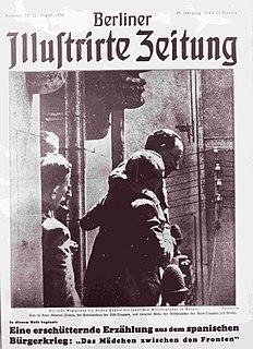 <i>Berliner Illustrirte Zeitung</i> German illustrated magazine