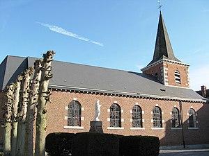 Berloz - Image: Berloz Eglise Saint Lambert