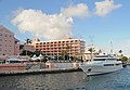 Bermuda - Hamilton Harbour cruising past the Hamilton Princess - panoramio.jpg