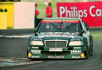 Bernd Schneider (racing driver) - Bernd Schneider - AMG-Mercedes Tabac Original Sonax Team - AMG-Mercedes C- Klasse, 1994 DTM Donington Park