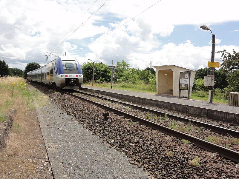 Bertrichamps (M-et-M) la gare