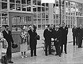Bezoek koningin Juliana en prins Bernhard aan Gelderland. BezoekTiel jamfabriek, Bestanddeelnr 904-0699.jpg