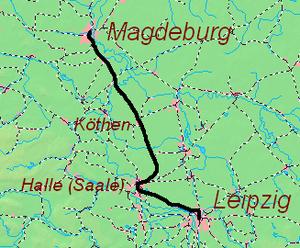 Magdeburg Leipzig Railway Wikipedia