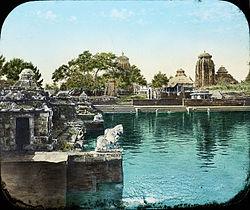 Tempel in Bhubaneswar (1906)