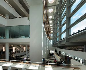Openbare Bibliotheek Amsterdam - The interior of the central library