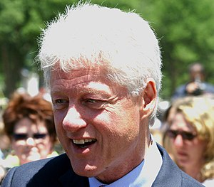Bill Clinton, former President of the United S...