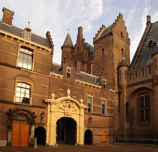 Binnenhof met Binnenpoort