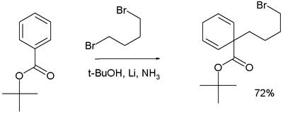 Birch alkylation