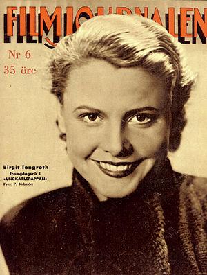 Birgit Tengroth - Image: Birgit Tengroth 1935