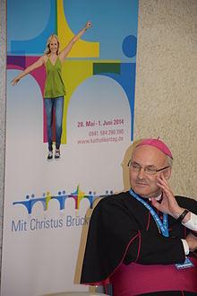 Bischof Dr. Rudolf Voderholzer3, 99. Deutscher Katholikentag, Regensburg.JPG