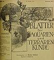 Blätter für Aquarien- und Terrarien-Kunde (1905) (20379350482).jpg