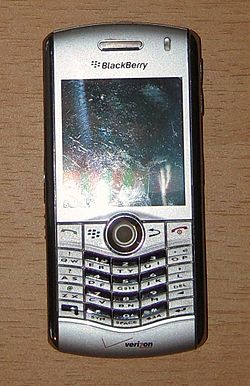 Image illustrative de l'article BlackBerry Pearl 8100