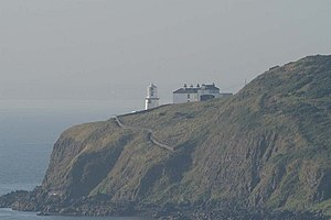 The Gobbins - Blackhead Lighthouse - Berkeley Deane Wise built bridges and a tunnel to make a path here before he created The Gobbins.