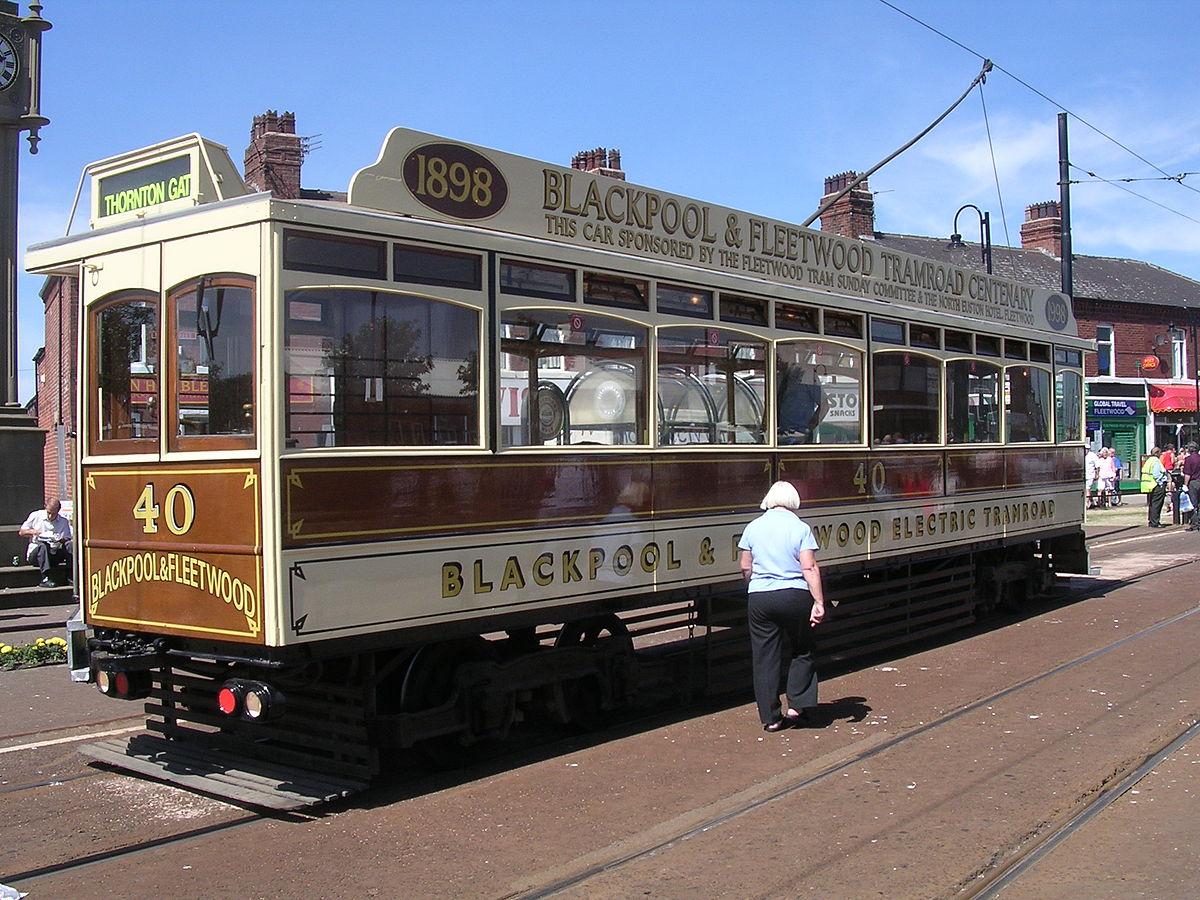 Blackpool And Fleetwood Tramroad Wikipedia