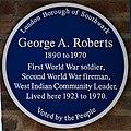 BluePlaque George Arthur Roberts.jpg