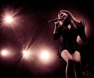 Blue Café - Current lead singer Dominika Gawęda