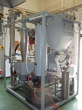 Bluidized bed biomass gasification plant - Side view.JPG