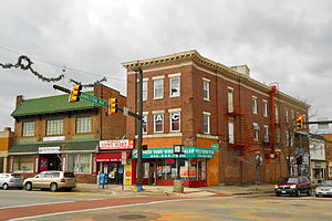 Hamilton, Baltimore - Corner of Hamilton Avenue and Harford Road