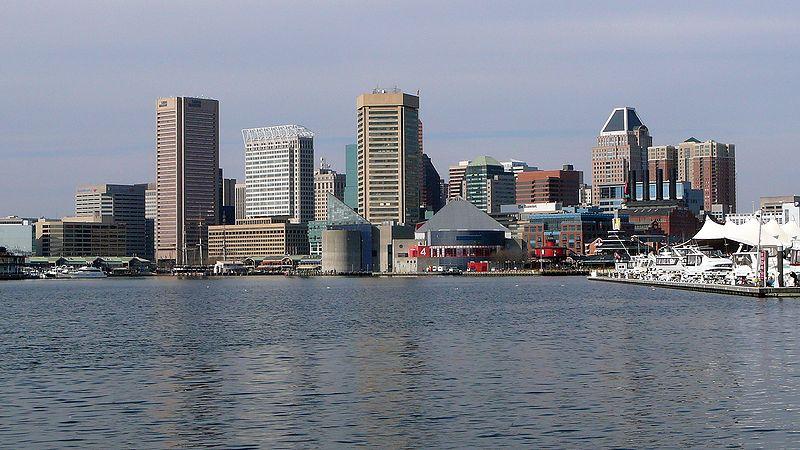 File:Bmore skyline inner harbor.jpg