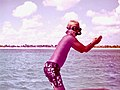 Boat trip from Cozumel, June 1973 Young diver.jpg