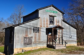 National Register of Historic Places listings in Giles County, Tennessee - Image: Bodenham Mill