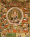 Bodhisattva Kshitigarbha and The Ten Kings of Hell. X century, Dunhuang, Musee Guimet, Paris.jpg
