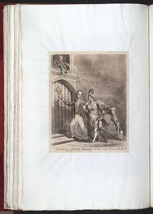 Spencer Perceval - Sketch for a Prime Minister by Samuel De Wilde in The Satirist (1811)