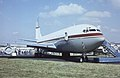 Boeing 707-351B(SCD) N351SR Untitled. (Owned by Jay Bee Charters Inc), Farnborough UK, September 1988. (5589849712).jpg