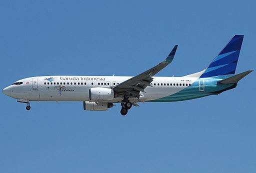 Boeing 737-8U3, Garuda Indonesia JP7330953