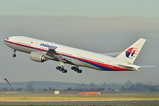 MH370, passenger flight that disappeared on 8 March 2014