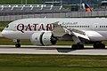 Boeing 787-8 Dreamliner Qatar Airways A7-BCA (9127595441).jpg