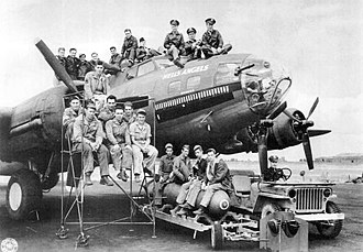 Hells Angels - This B-17F, tail number 41-24577, was named Hell's Angels after the 1930 Howard Hughes movie about World War I fighter pilots.