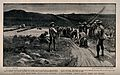Boer War; volunteer ambulance at work. Process print after A Wellcome V0015517.jpg