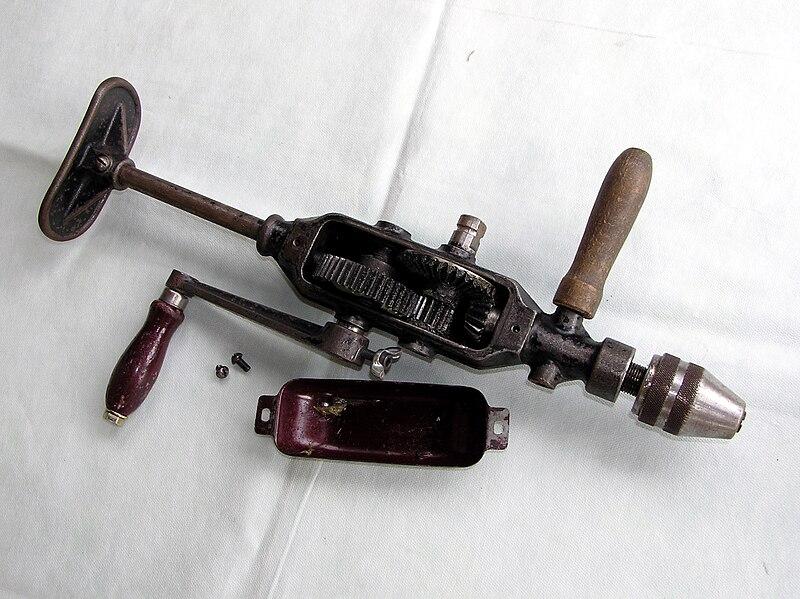 самоделки из ручная дрель механическая