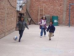 Bolivian children football.jpg