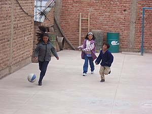 Bolivian children football.jpg