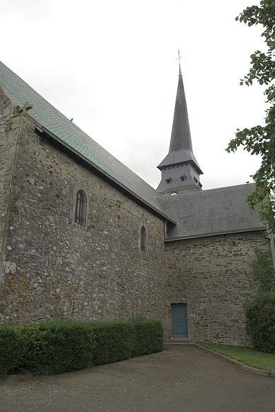 L'église Saint-Blaise de Bonchamp-lès-Laval.