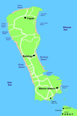 Boracay sketch map 2