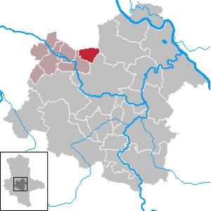 Borne, Saxony-Anhalt - Image: Borne in SLK