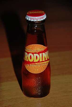 Crodino - Bottle of Crodino