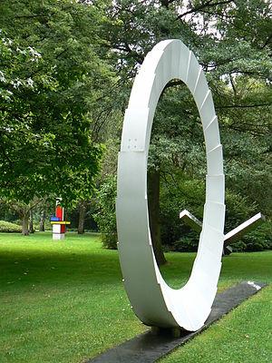 Marcello Morandini - Scultura Progretto No. 205 (1974) in sculpture park in Bottrop, Germany