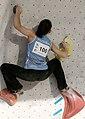 Boulder Worldcup Vienna 28-05-2010 quali-w090 Dinara Fakhritdinova.jpg