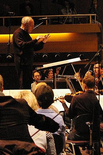 Donaueschingen Festival - Pierre Boulez at the Donaueschingen Festival in 2008