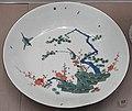 Bowl with three friends of winter decoration, Meissen, c. 1730-1740, porcelain, overglaze colors - Germanisches Nationalmuseum - Nuremberg, Germany - DSC02634.jpg