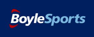 Boylesports - Image: Boylesports logo blue bg