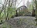 Brücke über die Murr der Bottwartalbahn, Eröffnung 1894 , Einstellung 1968, heute teilweise Alb-Neckar-Radweg - panoramio.jpg
