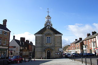 Brackley town in Northamptonshire, England