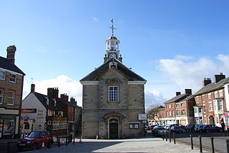 Brackley - Image: Brackley Town Hall(Andrew Smith)Mar 2006